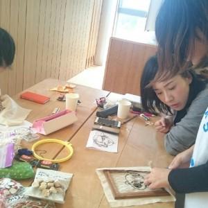 【転勤族イベント報告】TKT48チーム静岡・イラスト&刺繍ワークショップ