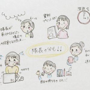 【TKT48チーム東京KEIO隊活動レポ】転妻ウェルカムパーティーの舞台裏(前編)