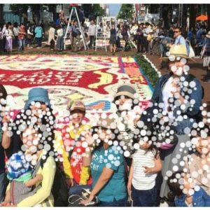 【イベント報告】TKT48チーム北海道で「札幌フラワーカーペット」ボランティアに参加!