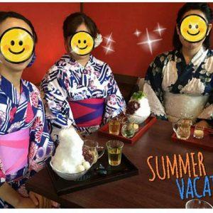 【イベント報告】TKT48チーム石川で、浴衣でかき氷&長町武家屋敷散策