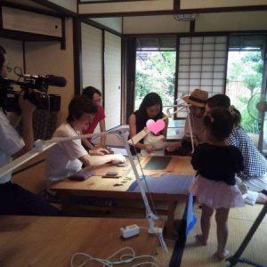 【イベント報告】TKT48チーム三重で「伊勢型紙資料館」見学!(NHK取材有)