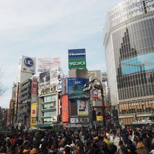 転勤族協会TKT48、渋谷センター街へ!