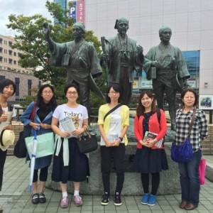【TKT48チーム茨城×水戸市役所】5.水戸駅北口~泉町まで散策してみよう!