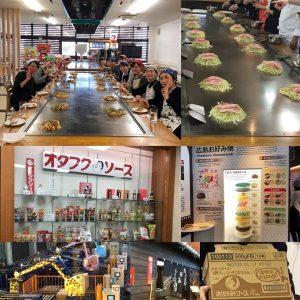 【イベント報告】TKT48チーム広島で、オタフクソース工場見学&お好み焼き教室
